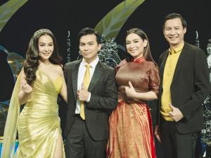 Trần Mỹ Ngọc làm cố vấn Solo cùng Bolero với 2 giám khảo Phi Nhung, Mạnh Quỳnh