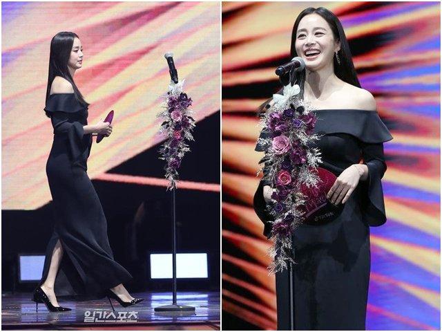 Ngôi sao 24/7: Kim Tae Hee tái xuất sau sinh, đánh cắp cả sự chú ý của lễ trao giải