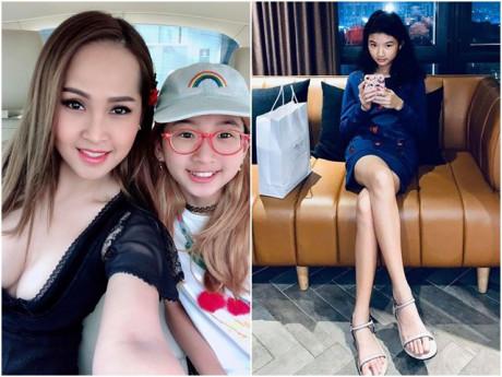 3 cô con gái vàng mười của sao Việt xinh như Hoa hậu, dự báo gia nhập hội chân dài