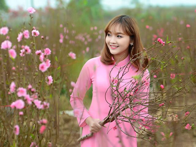 Xuất hiện vườn hoa siêu lung linh để chị em chụp ảnh dịp Tết nguyên đán