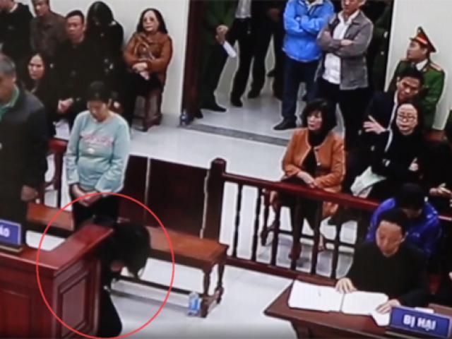 Xử vụ HS trường Gateway: Cô giáo chủ nhiệm bật khóc, quỳ lạy gia đình nạn nhân xin tha thứ