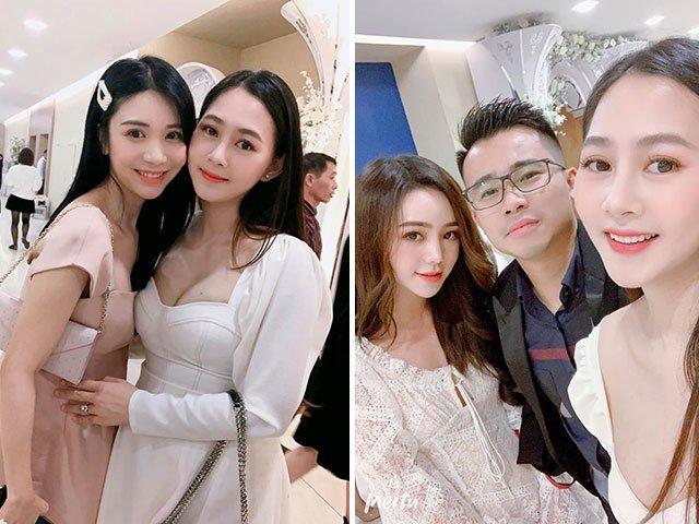 Đọ sắc 2 hotgirl làng phim Quỳnh Kool Thanh Bi, mẹ đẻ 4 tháng đi xe 25 tỷ vẫn đẹp