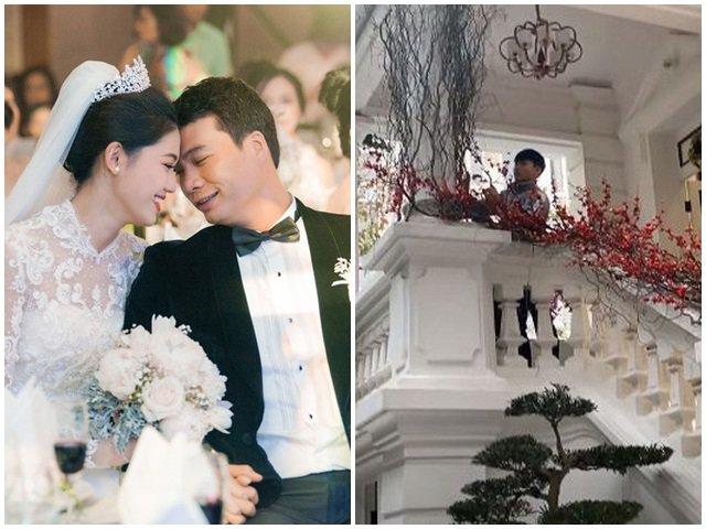 Rời showbiz lấy đại gia hơn 16 tuổi, Á hậu Thanh Tú lần đầu khoe biệt thự đón Tết