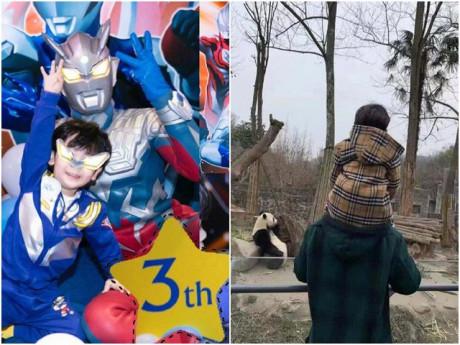 Con trai sinh nhật 3 tuổi, Angelababy - Huỳnh Hiểu Minh không thèm nhắc đến nhau