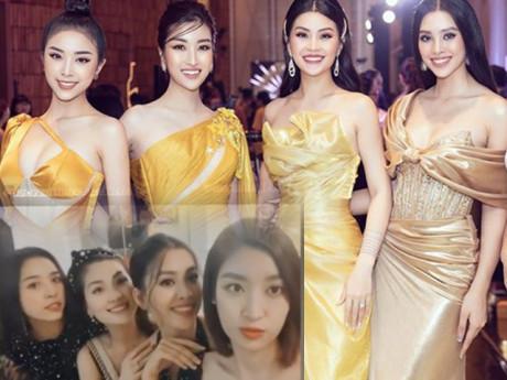 Hội bạn thân Hoa - Á hậu mới toàn cực phẩm của Vbiz: Đỗ Mỹ Linh, Tiểu Vy, Diễm Trang