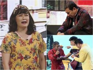 Táo quân vi hành: Vân Dung mang bầu bị phản bội, con trai Quang Thắng làm khán giả bật khóc