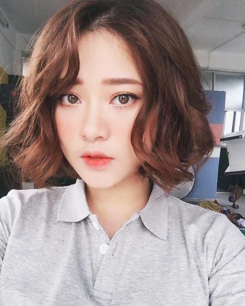 25 kiểu tóc ngắn uốn đẹp phù hợp với mọi khuôn mặt năm 2021 - 12