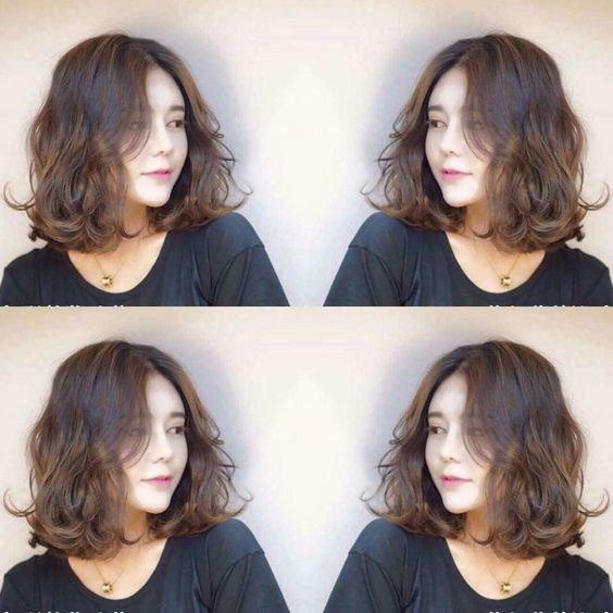 25 kiểu tóc ngắn uốn đẹp phù hợp với mọi khuôn mặt năm 2021 - 18