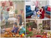 Nhà đẹp - Cách xa nửa vòng trái đất, mẹ Việt trang trí nhà hoài niệm về Tết xưa