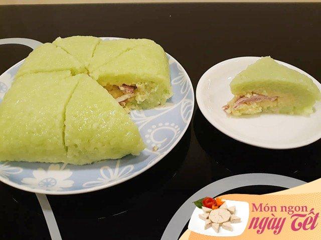 Mẹ Việt kiều gói bánh chưng không cần lá dong, 60 phút là được bánh xanh ngon hết ý