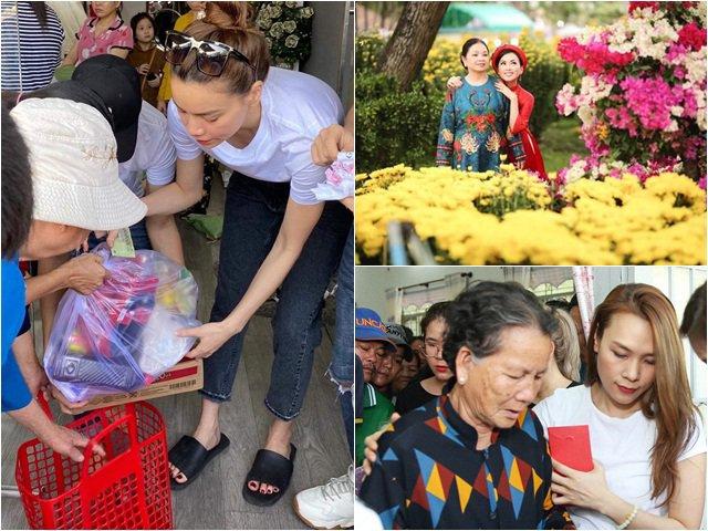 Sau Thuỷ Tiên, Hồ Ngọc Hà và em gái Cẩm Ly cũng có hành động ấm lòng dịp cuối năm