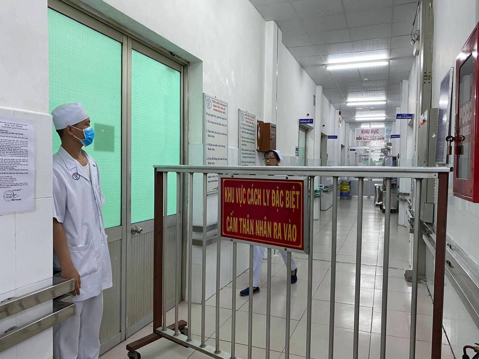 Bệnh viện Chợ Rẫy đang điều trị 2 bệnh nhân đến từ Trung Quốc nhiễm virus corona