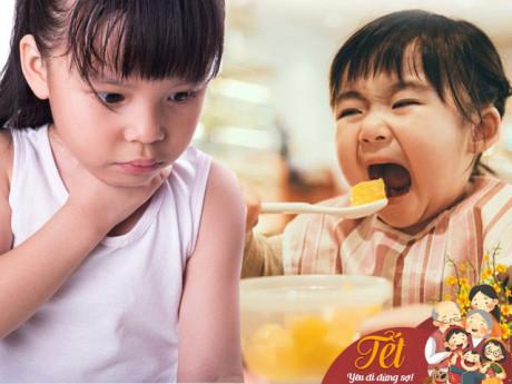 Tết cho con ăn những món này, cha mẹ cần chú ý kẻo hối không kịp