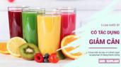 5 loại nước ép thơm ngon: Vừa thưởng thức trong dịp Tết, vừa có tác dụng giảm cân