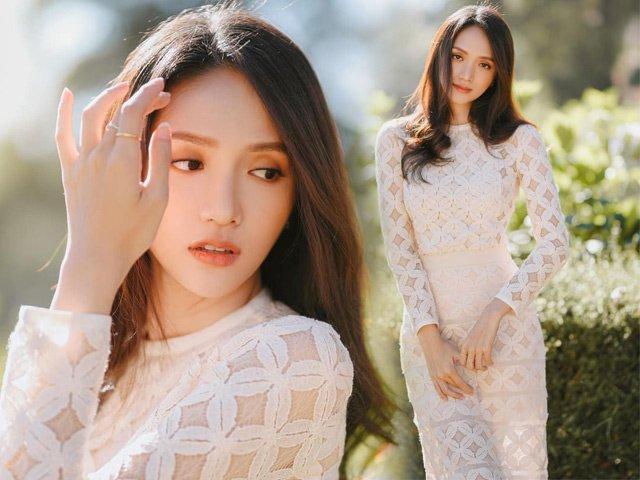 Diện váy xuyên thấu sau Tết, Hương Giang xứng danh nữ thần vì đẹp không tỳ vết