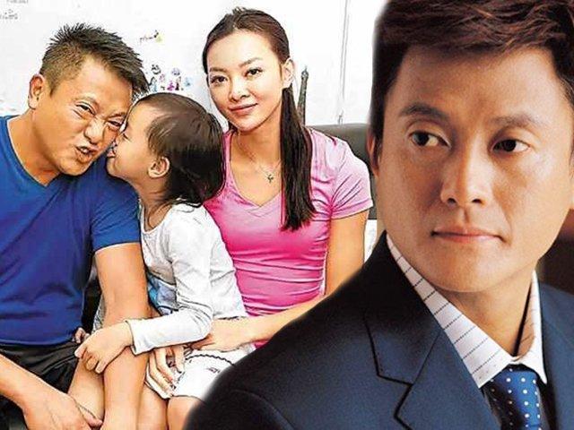 Mới đầu năm, tài tử Hongkong đã than bị vợ cắm sừng, sống dựa vào con gái