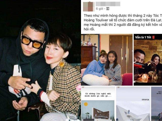 Tóc Tiên và Hoàng Touliver chuẩn bị kết hôn, lộ cả thời gian và địa điểm tổ chức?
