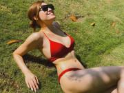 Hoa hậu   bốc lửa   từng tỏ tình với Lâm Tây sau sinh bị chê béo, giờ 1 tuần giảm 7kg