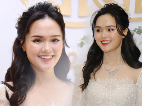 Phục thù sau đám hỏi, cô dâu Quỳnh Anh đã chọn đúng màu son, xinh lung linh trong ngày cưới
