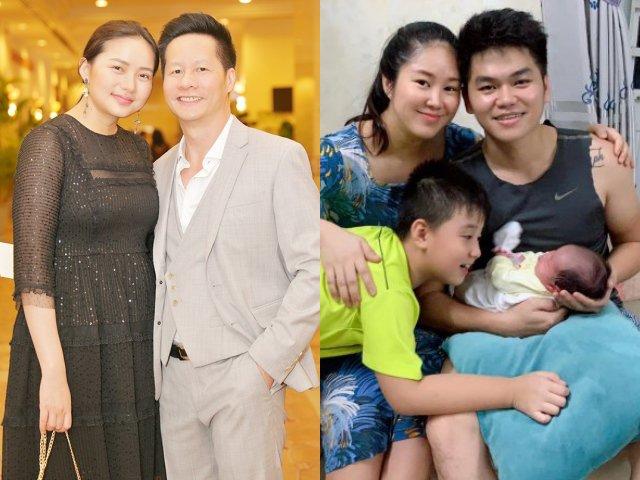 Lê Phương, Phan Như Thảo: 2 mẹ bỉm hạnh phúc nhất showbiz, phát tướng vẫn được chồng chiều hết mực