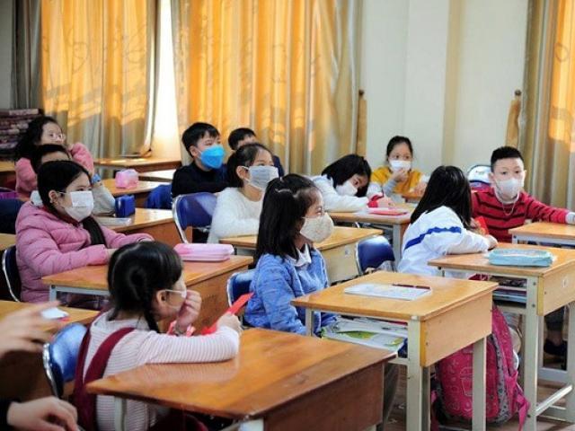 Bộ Y tế khuyến cáo có thể cho học sinh đi học trở lại nếu đủ các điều kiện