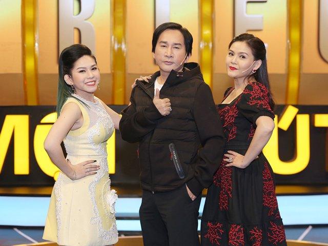 NSƯT Kim Tử Long dẫn vợ 3 xinh đẹp và con gái nuôi đi thi gameshow trí tuệ