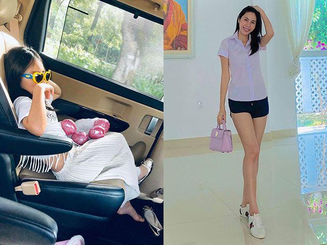 Bị giấu mặt suốt 7 năm, con gái Thuỷ Tiên giờ cực sang chảnh, mê K-pop, chê mẹ trẻ trâu