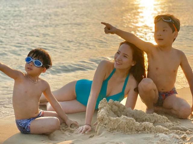 Người đẹp vai vợ Phan Hải ngoài đời đã U40, 2 lần đẻ diện bikini vẫn gây sốt