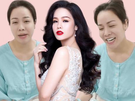 """Tiều tụy vì nhập viện cấp cứu, Nhật Kim Anh vẫn""""gây sốt"""" bởi mặt mộc đẹp không tì vết"""