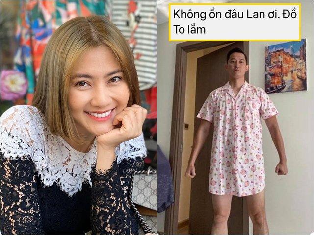 Sao Việt 24h: Mượn đồ của vợ Huy Khánh, Ngọc Lan nhận được bức hình cười muốn sảng