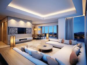 Những mẫu trần thạch cao phòng khách hiện đại đem lại sự sang trọng cho ngôi nhà