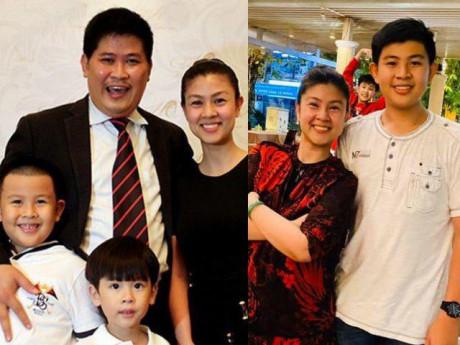 Vợ cũ Phước Sang bị dìm hàng chiều cao ngay trong lần đầu tiên khoe ảnh 2 quý tử