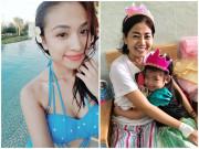 Làm mẹ - 3 mỹ nhân Việt nuôi con nhỏ còn mắc bệnh nặng, Mai Phương đang sống gấp từng ngày