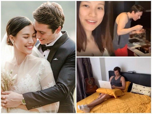 Lấy chồng Tây giàu có, Hoàng Oanh tự tin để mặt mộc, khoe nhà mới tậu bên Singapore