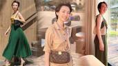 Hoa hậu làng hài Thu Trang nay đã khác: ăn mặc sành điệu, sắm túi hiệu đầy tay