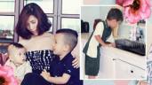 Hotmom Việt ở Úc dạy con 2 tuổi biết lấy quần áo ra phơi, 6 tuổi làm hết việc nhà