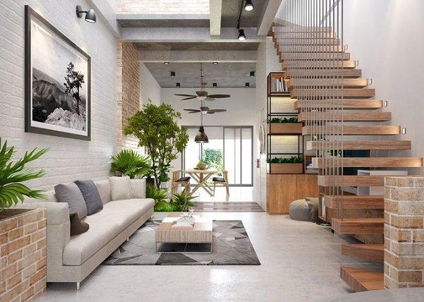 Các mẫu cầu thang nhà ống 5m tối giản mà hiện đại cho ngôi nhà của bạn - 5