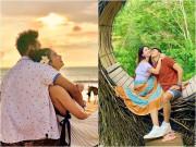 Giải trí - Ảnh đẹp như mơ chứng minh hôn nhân ngọt ngào của Kha Ly - Thanh Duy sau 4 năm