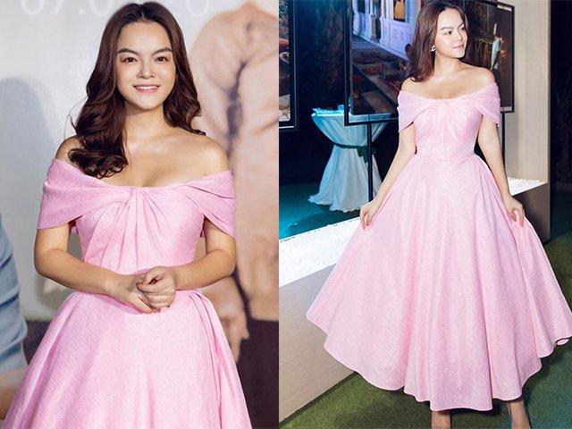 Mừng Quốc tế Phụ nữ, Phạm Quỳnh Anh diện váy hồng khoe vẻ đẹp rạng ngời, trẻ trung không tuổi