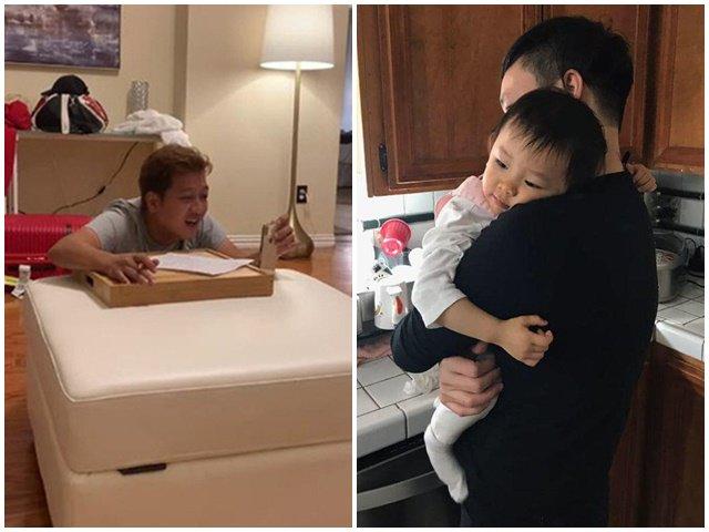 2 ông bố showbiz Việt tự cách ly để bảo vệ con, người đầu tiên nhìn thương nhất
