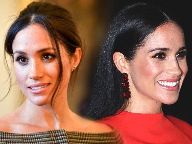 Rời khỏi Hoàng gia, Meghan Markle tạm biệt lối makeup nhẹ nhàng, chuyển sang trang điểm đậm sắc sảo