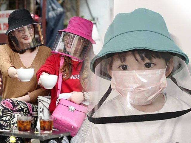Mũ chống dịch - phụ kiện thời trang mới và khả năng bảo vệ không kém khẩu trang