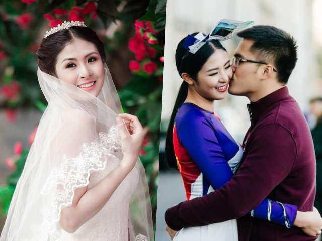 Hoa hậu Ngọc Hân hoãn đám cưới với bạn trai yêu 10 năm vì dịch COVID-19