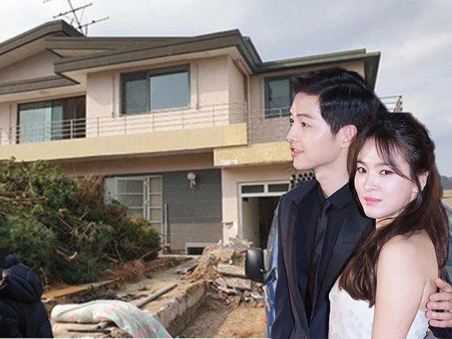 Sau 9 tháng ly hôn, Song Joong Ki phá bỏ biệt thự 200 tỷ từng mua vì Song Hye Kyo