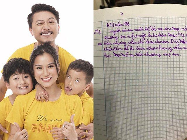 Bố mẹ toàn cây hài đình đám, con trai Lâm Vỹ Dạ lại viết văn tả góc khuất khó ngờ