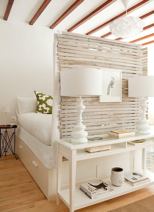 Những mẫu vách ngăn phòng ngủ biến nhà rộng gấp đôi, sang chảnh miễn bàn - 11