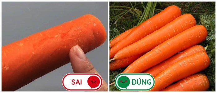 3 loại cà rốt thường thấy nhưng không nên mua khi đi chợ nhiều người đến giờ vẫn chưa biết