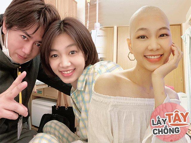 Cô gái Việt yêu quản lý người Nhật, bị ung thư được bạn trai chăm sóc từng li từng tí
