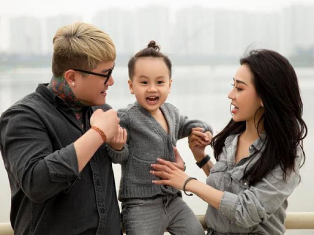 Từng quỳ xin vợ tha thứ không được, cuối cùng gia đình Vũ Duy Khánh đã hàn gắn nhờ con