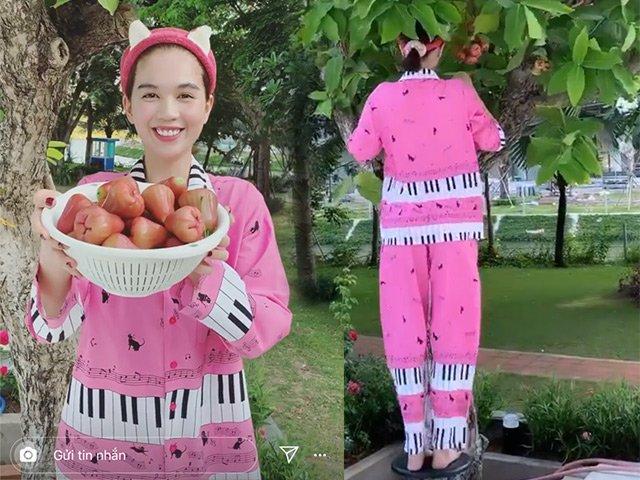Ngọc Trinh ở biệt thự triệu đô nhưng vẫn mua đồ pijama giá rẻ cực đáng yêu để mặc